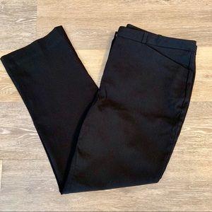 Worthington Black Cropped Dress Pants